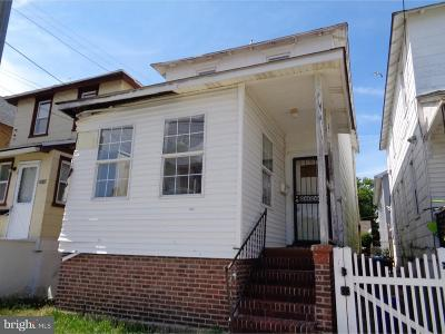 Atlantic City NJ Single Family Home For Sale: $34,900