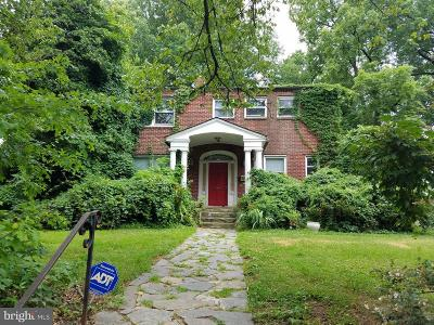 Brookland Single Family Home Active Under Contract: 1237 Franklin Street NE