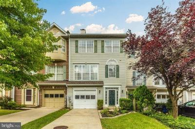 Frederick Townhouse For Sale: 6133 Pine Crest Lane