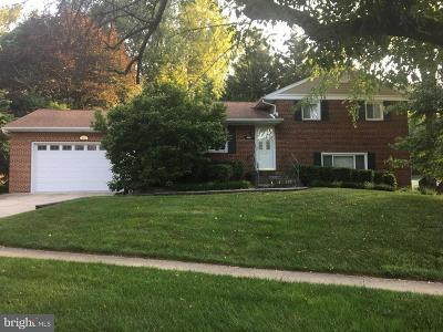 Rockville Single Family Home For Sale: 4822 Mori Drive
