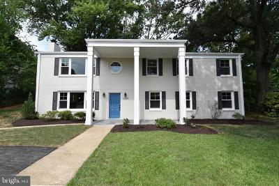 Alexandria Single Family Home For Sale: 6024 Fort Hunt Road