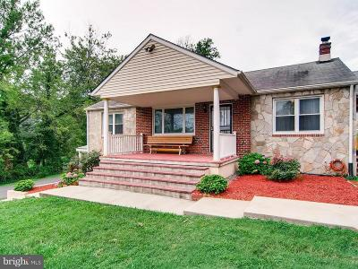 Perry Hall Single Family Home For Sale: 8630 Silver Lake Drive