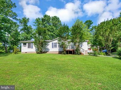 Caroline County Single Family Home For Sale: 15380 Countyline Church Road