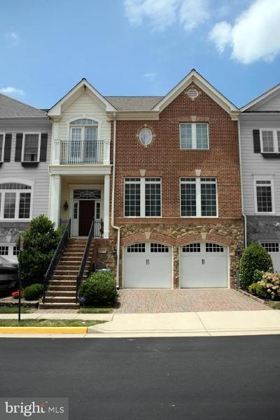 Vienna Townhouse For Sale: 8704 Esquire Crossing Lane