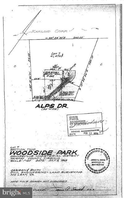 McLean Residential Lots & Land For Sale: 1302 Alps Drive