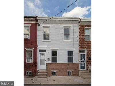 Point Breeze Townhouse For Sale: 1437 S Bancroft Street
