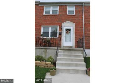 Baltimore County Rental For Rent: 2123 Pitney Road