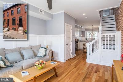 Baltimore Townhouse For Sale: 10 Curley Street N