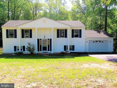 Salisbury Single Family Home For Sale: 6125 Rockawalkin Road
