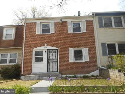 Upper Marlboro Townhouse Under Contract: 8809 Woodstock Drive W