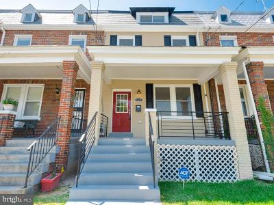 Washington Townhouse For Sale: 424 Ingraham Street NW