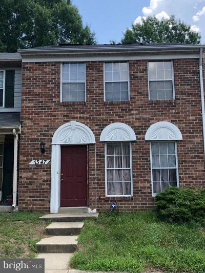 Capitol Heights Townhouse Under Contract: 7347 Shady Glen Terrace