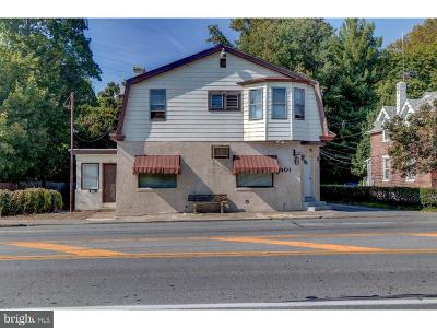 Ridley Park Multi Family Home For Sale: 401 W Chester Pike
