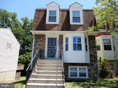 Upper Marlboro Townhouse For Sale: 10563 Campus Way S