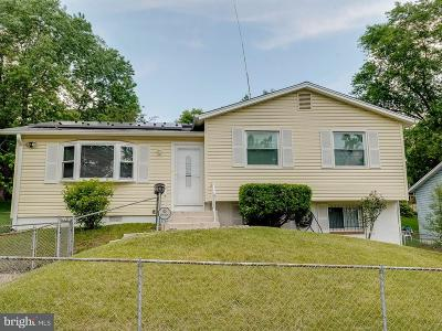 Capitol Heights Single Family Home For Sale: 6711 Hastings Drive