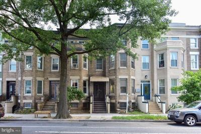 Washington Townhouse For Sale: 2705 11th Street NW