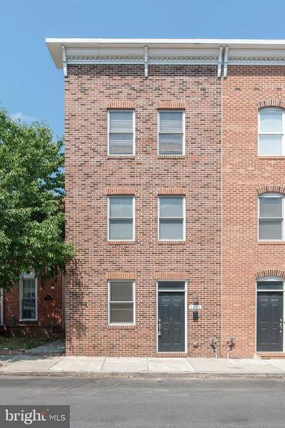 Baltimore City Rental For Rent: 1630 Light Street