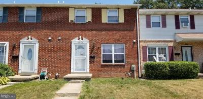 Baltimore MD Townhouse For Sale: $160,000