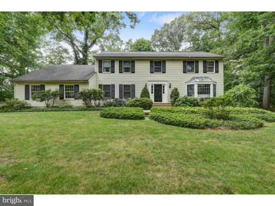 Plainsboro Single Family Home For Sale: 4 Red Oak Drive