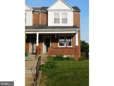 Norristown Single Family Home For Sale: 828 Noble Street