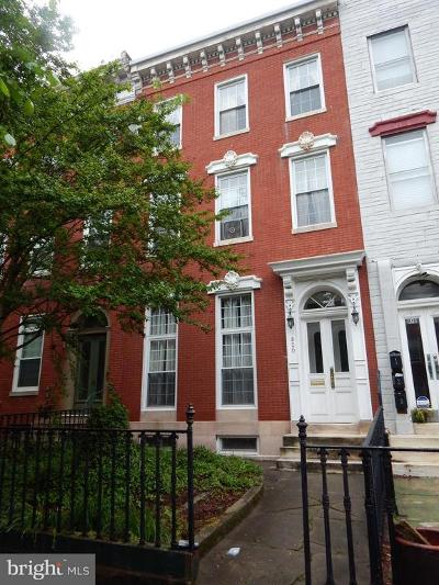 Baltimore Rental For Rent: 820 Hollins Street