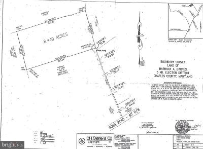 Charles County Residential Lots & Land For Sale: Bowie Rd.