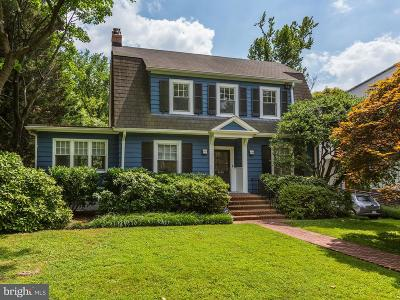 Chevy Chase Single Family Home For Sale: 4000 Underwood Street