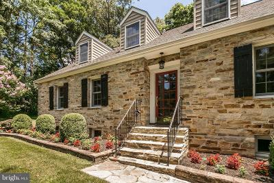 Ellicott City Single Family Home For Sale: 11762 Carroll Mill Road