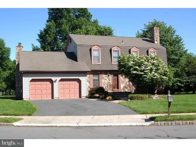 Plainsboro Single Family Home For Sale: 4 Franklin Drive