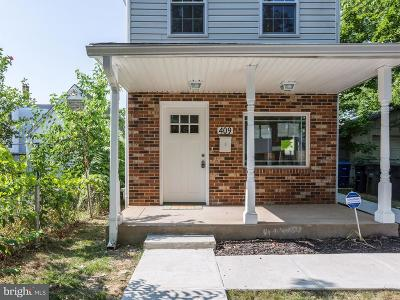 Washington Single Family Home For Sale: 409 Savannah Street SE
