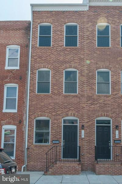 Baltimore Rental For Rent: 1121 Hanover Street