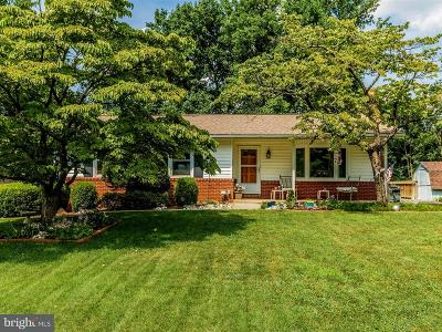 Frederick Single Family Home For Sale: 10180 Winston Drive