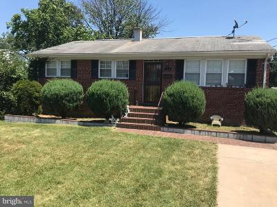 Hyattsville Single Family Home For Sale: 6119 Sargent Road