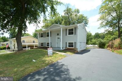 Dale City Single Family Home For Sale: 13722 Greenwood Drive