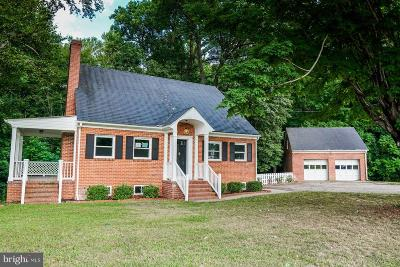 King George Single Family Home For Sale: 5828 James Madison Parkway