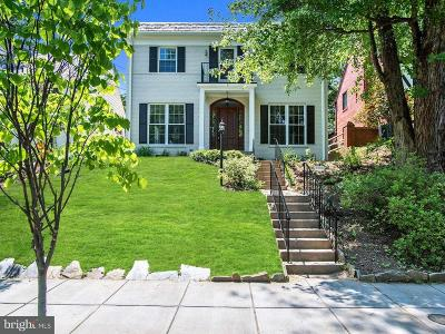 Washington Single Family Home For Sale: 3008 Tennyson Street NW