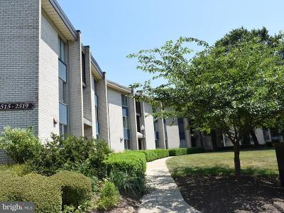 Rockville Condo For Sale: 2519 Baltimore Road #6