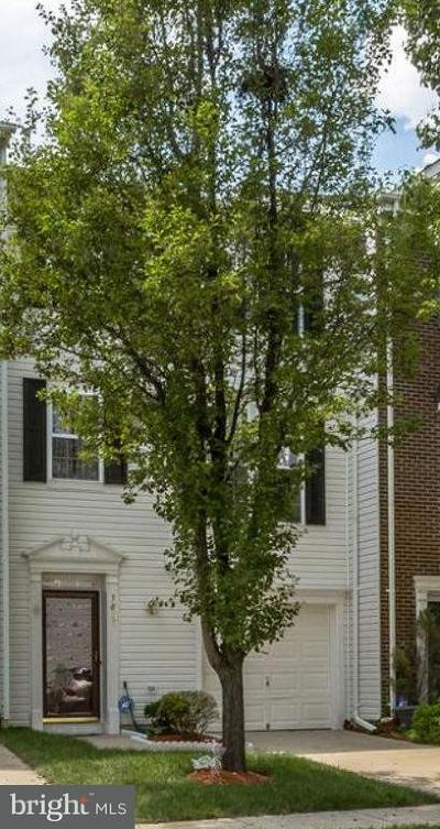 Lorton Townhouse For Sale: 7837 Dogue Indian Circle