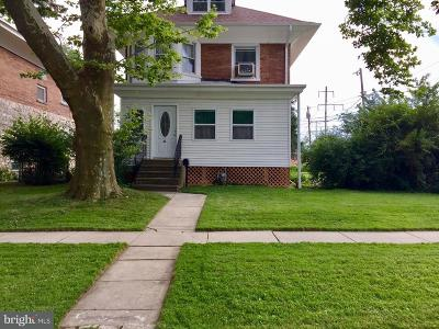Delaware County Single Family Home For Sale: 42 W Ridley Avenue