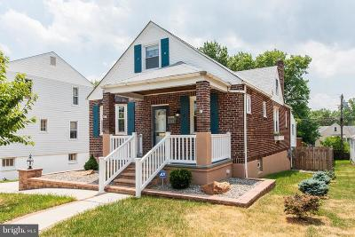 Baltimore Single Family Home For Sale: 3021 Willoughby Road