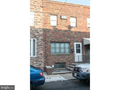 Philadelphia County Townhouse For Sale: 2550 S Jessup Street