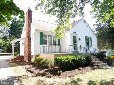 Linthicum Single Family Home For Sale: 309 Twin Oaks Road