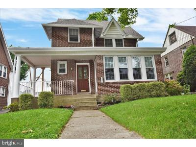 Delaware County Single Family Home For Sale: 820 Turner Avenue