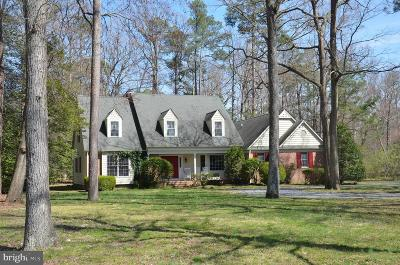 Saint Michaels Single Family Home For Sale: 24420 Mallard Place
