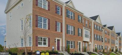 Frederick Townhouse For Sale: 7211 Delegate Place