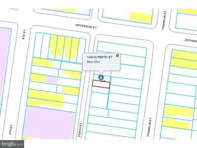 Residential Lots & Land For Sale: 1443 N Perth Street