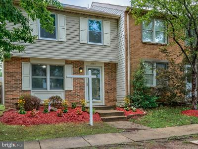Centreville Townhouse For Sale: 6326 Lightburn Court