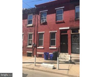 Philadelphia County Multi Family Home For Sale: 1827 Ingersoll Street