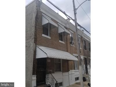 Philadelphia County Townhouse For Sale: 1507 S Ringgold Street