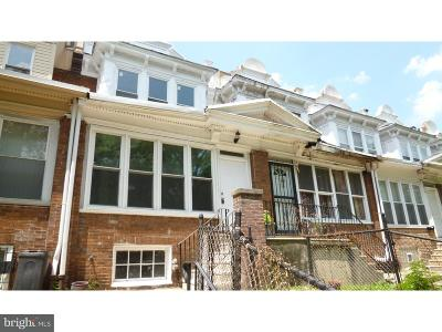 Philadelphia County Townhouse For Sale: 6161 Lebanon Avenue